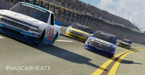 nascar heat camping world truck series, nascar heat 3, world truck series nascar