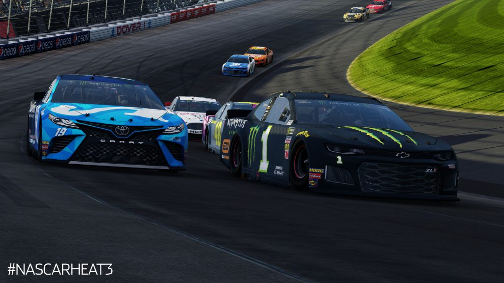 kurt busch and martin truex jr at dover 2019